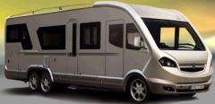 Caravana Marca Knaus, Modelo azur 450 fu