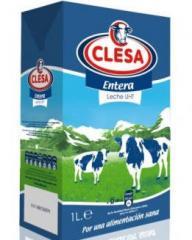 Las leches UHT