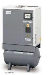 Compresores de tornillo rotativos con inyección de