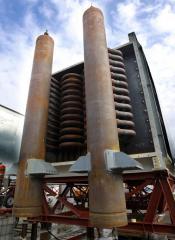 Steam superheater emethanez damietta
