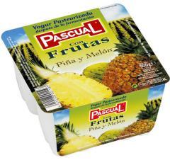 Yogur Pascual con Piña y Melón