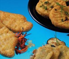 Semi-finished fish food