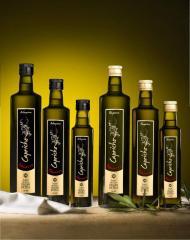 Aceite de oliva virgen extra monovarietal Arbequina CAPRICHO NAVARRO