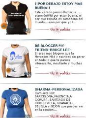Camisetas femeninas