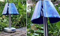 Lámparas con baterías solares