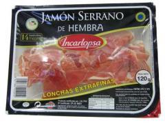 Jamón Serrano de Hembra, 10 lonchas extrafinas