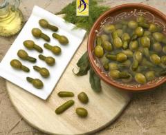 Aceitunas Gordal con pepinillo (sabor anchoa)