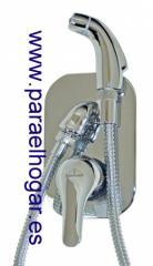 Вентиль для Туалета, Превращает Туалет в Биде. Теплая вода / Холодная. ISO 9002