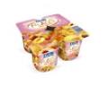 Йогурт, снятый пенки с персиком