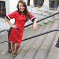 Vestido batín colores rojo y negro de PenadeSuerte