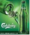 La cerveza Carlsberg