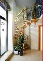 Escalera de Caracol con Barandilla de 5 varillas