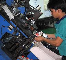 Pedido Fabricación de prductos textiles