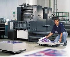 Pedido Servicios de litografia