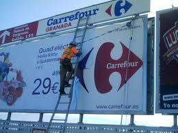 Pedido Fabricación e instalación de vallas publicitarias, señales