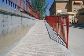Pedido Supresión de barreras arquitectónicas