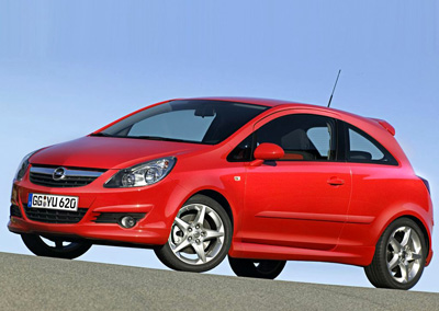 Pedido Alquiler de Opel Corsa