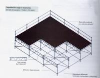Pedido Servicios de escenario y estructuras Layher
