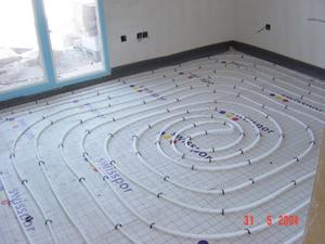Pedido Servicios de instalación de suelo radiante