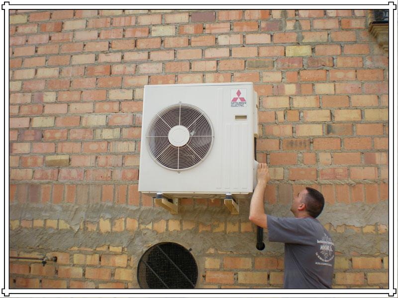 Pedido Servicios de Instalación equipos de aire Acondicionado