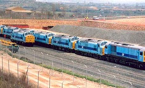 Pedido Operaciones en el mercado del transporte ferroviario
