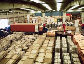 Pedido Almacén de mercancía general