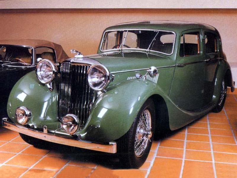 Pedido Jaguar MK IV (1947)