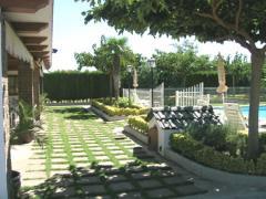 Jardines, construcción