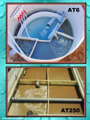 Estaciones Biológicas Depuradoras de Aguas Residuales AT6-AT250.