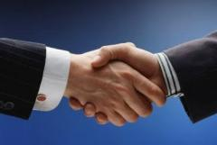 La búsqueda de los socios, la comprobación de su estado financiero