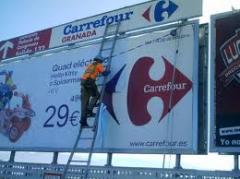 Fabricación e instalación de vallas publicitarias, señales