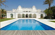 Palace in prime beach front