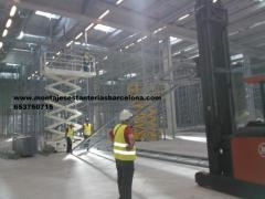 Estanterias metalicas-venta-montaje-desmontaje