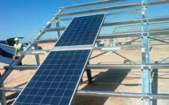 Montaje paneles solares