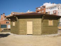 Servicios de construcción de casas de madera