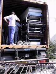 Carga y descarga de camiones y contenedores