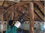 Tratamiento de carpintería y estructuras