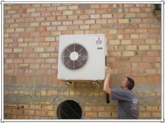 Servicios de Instalación equipos de aire