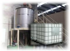 Servicios de fabricación química