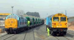 Transporte por ferrocarril de mercancías